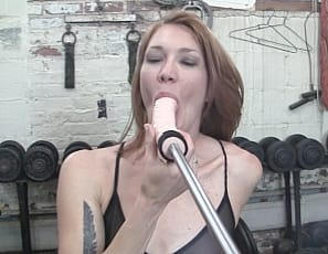 Charlotte has just finished playing with her pretty pussy when her trainer kicks things into high gear by bringing out the fuck-stick! There is much more to say other than you will love hearing Charlotte moan, groan, and scream her way to an orgasm. I am not sure we've had anyone say Oh, fuck... as many times as Charlotte has in this video. Enjoy.