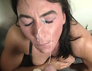 In stockings, tattooed female bodybuilder Whitney gives a blow job and gets muscle worship of her legs, pecs,, and glutes. It gets her so hot, she has to masturbate her big clit until she's squirting. Watch the penetration, ass play and muscle sex close up.